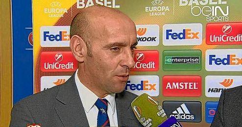 Monchi, director deportivo del Sevilla, en beIN Sports.