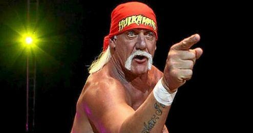 En la imagen, el ex luchador profesional, Hulk Hogan.
