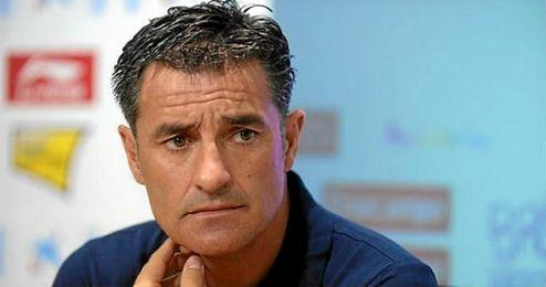 En la imagen, Míchel, el actual técnico del Olympique Marsella.