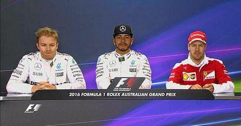 Nico Rosberg saldrá segundo y Sebastian Vettel, tercero.
