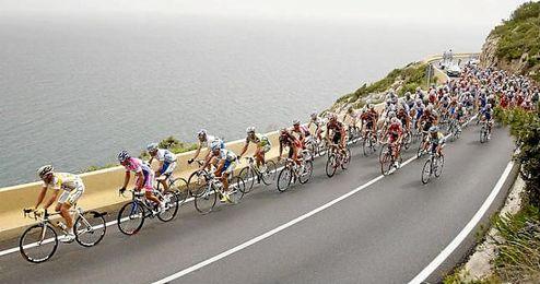 Imagen de una etapa de la Volta Ciclista a Catalunya.