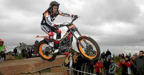 En la imagen, el piloto de trial catal�n, Toni Bou.