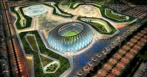 El Al-Wakrah, uno de los estadios que se construirán para en Catar.