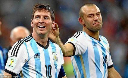 Mascherano habló de su admiración por Messi.