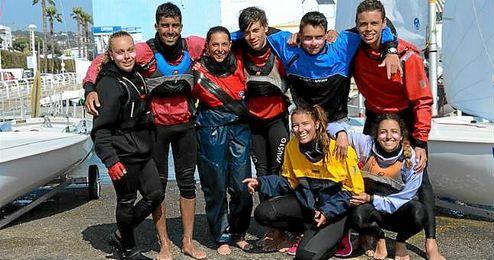En la imagen, el equipo de Canarias.