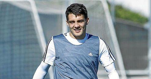 Kovacic, durante un entrenamiento con el Real Madrid.