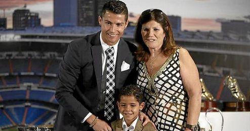 """""""Yo (Cristiano) no lo voy a forzar a ser jugador porque eso viene de una manera natural""""."""