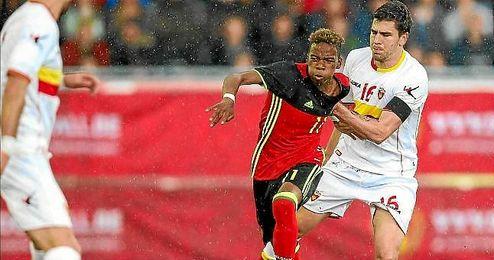 Montenegro iguala a puntos a Bélgica en la clasificación para el Europeo.