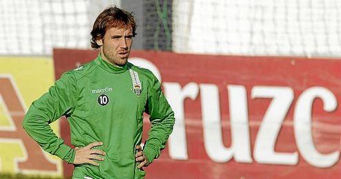 Joan Verd�, durante su temporada en el Betis.