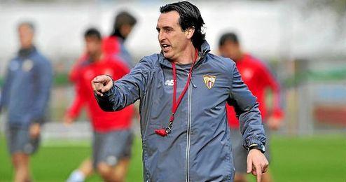 Emery ha recordado que tiene ilusión por seguir creciendo con el Sevilla