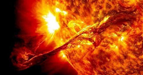 La mayor erupci�n solar observada se llev� a cabo en septiembre de 1859