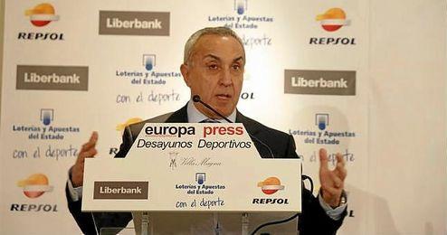 En la imagen, el presidente del COE, Alejandro Blanco.