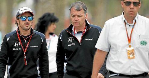 Alonso tendr� que pasar de nuevo los ex�menes m�dicos en ocho o nueve d�as.