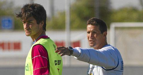Merino vivió en Huelva su primera experiencia como técnico.