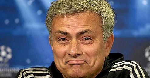 En la imagen, el entrenador portugués, José Mourinho.