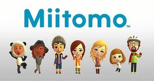 Imagen corporativa de Miitomo, la nueva aplicación de Nintendo.