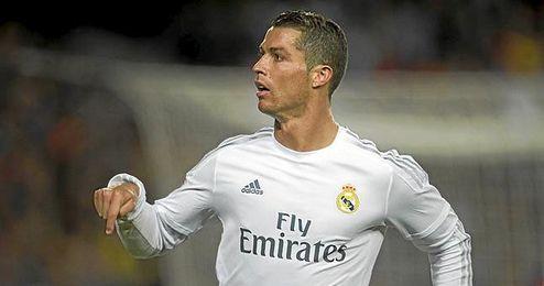 Ronaldo marcó el gol del triunfo.