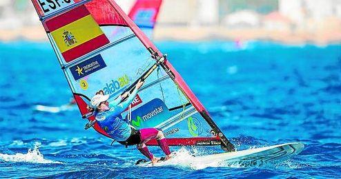 Marina Alabau se queda a un paso del podio.