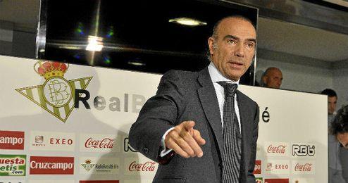 Luis Oliver, ex consejero deportivo del Betis.