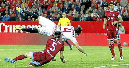 El Sevilla dice adi�s a la racha... y a la Champions.