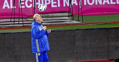 Respecto a su futuro como seleccionador, Del Bosque ha dicho que no sabe d�nde estar� despu�s de la Eurocopa.