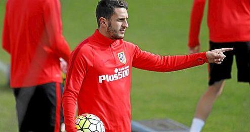 El futbolista extendió su contrato con el Atlético en el año 2014 y su vínculo con el club se prolonga hasta 2019.