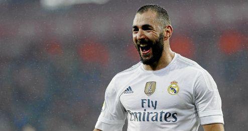 En la imagen, Karim Benzema.
