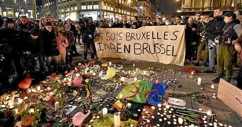 Al menos dos detenidos por los atentados de Bruselas