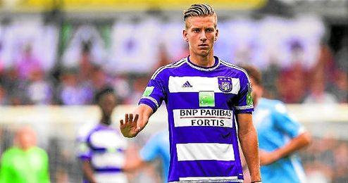 Dennis Praet termina contrato en 2017 y saldrá este verano del Anderlecht.