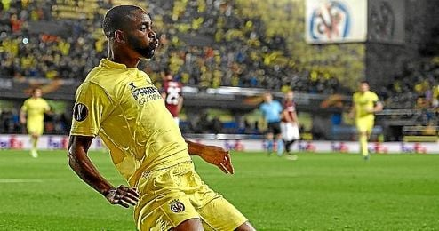 Bakambu lleva 4 goles en las últimas 4 jornadas