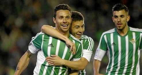 El gol de Rubén Castro ante el Levante, clave.