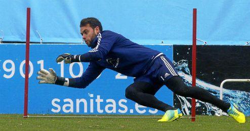 Sergio Álvarez, meta del Celta de Vigo.