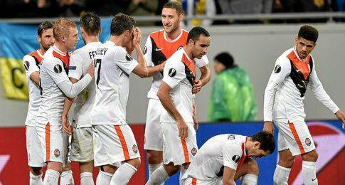 El Shakhtar, rival del Sevilla en semifinales de la Europa League.