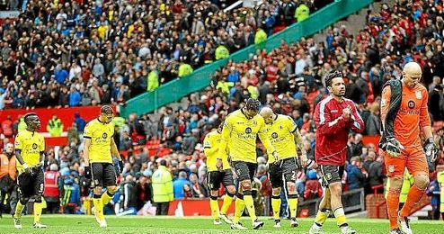 El Aston Villa ha descendido hoy matem�ticamente a la Championship.