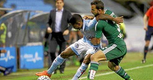 Imagen de Montoya en el partido ante el Celta.