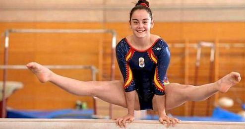 Se jugaba la plaza olímpica con su compatriota Claudia Colom.
