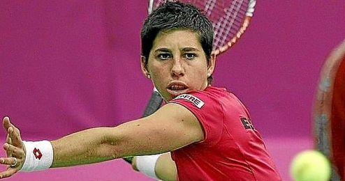 La espa�ola jugar� en la segunda ronda contra la alemana Anna-Lena Friedsam.