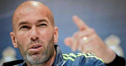 """Zinedine Zidane resalta la """"concentración"""" de sus jugadores."""