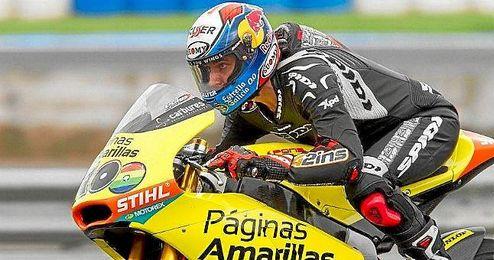 Rins será uno de los principales candidatos a subir al podio en Jerez.