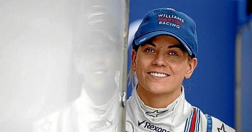 """""""En todos mis años en el deporte del motor Bernie nunca dejó de apoyarme en mi misión de ser piloto titular"""", afirmó Susie Wolff."""