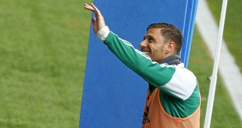 """Joaquín está """"satisfecho"""" con la temporada del Betis."""