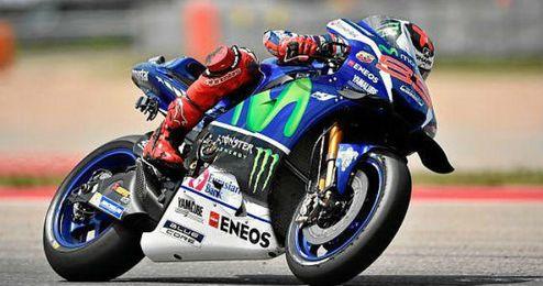 Jorge Lorenzo se mostró sorprendido por la pole de Valentino Rossi.