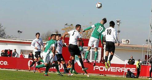 Imagen del Sevilla Atlético-Betis B de la primera vuelta.