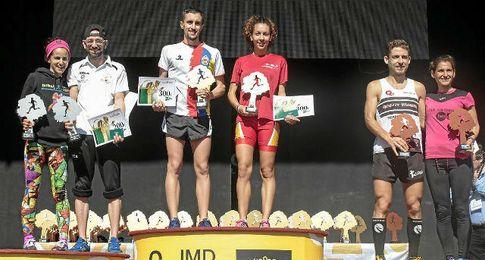 Samuel Lay y Carolina Robles se imponen en la carrera.