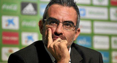 Eduardo Macià deja de ser director deportivo del Betis.