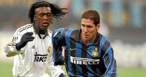 Simeone jugó en el Inter durante la 97/98 y la 98/99.