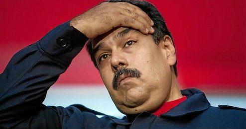 El presidente de Venezuela, Nicol�s Maduro.