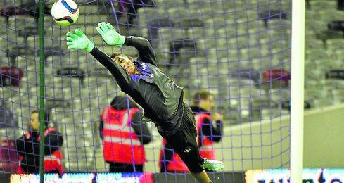 Alban Lafont es una de las revelaciones de la Ligue 1.
