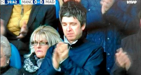 Noel Gallagher asisti� al Ettihad para el City-Madrid.