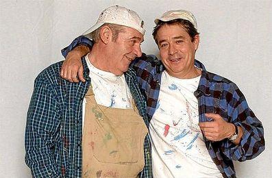 Ángel de Andrés y Carlos Iglesias, en ´Manos a la obra´.